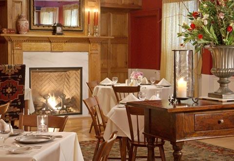 dinner table wine manchester vt restaurant tavern the dorset inn
